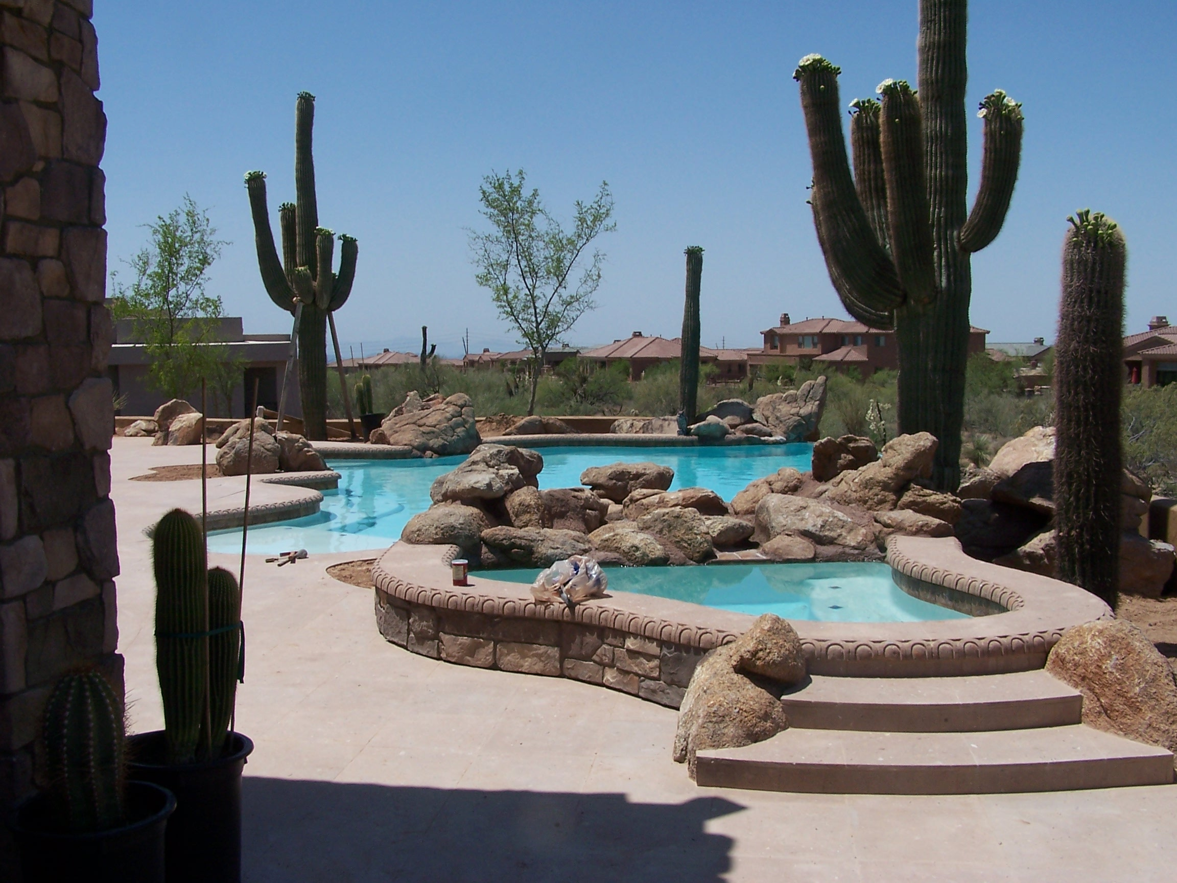 Excellent Swimming Pool Designs In Arizona Images Simple Design Home